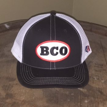 BCO Hat - Black & White with BCO Patch